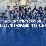 Weekend d'intégration des Youth Exchange IN 2018.2019